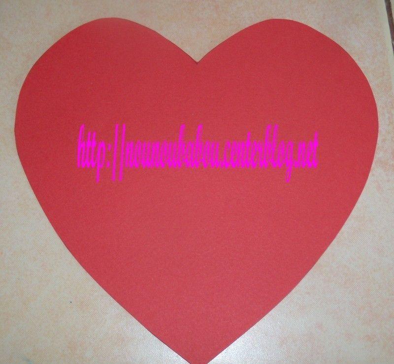 Fermeturedefinitive - Faire un coeur en papier ...
