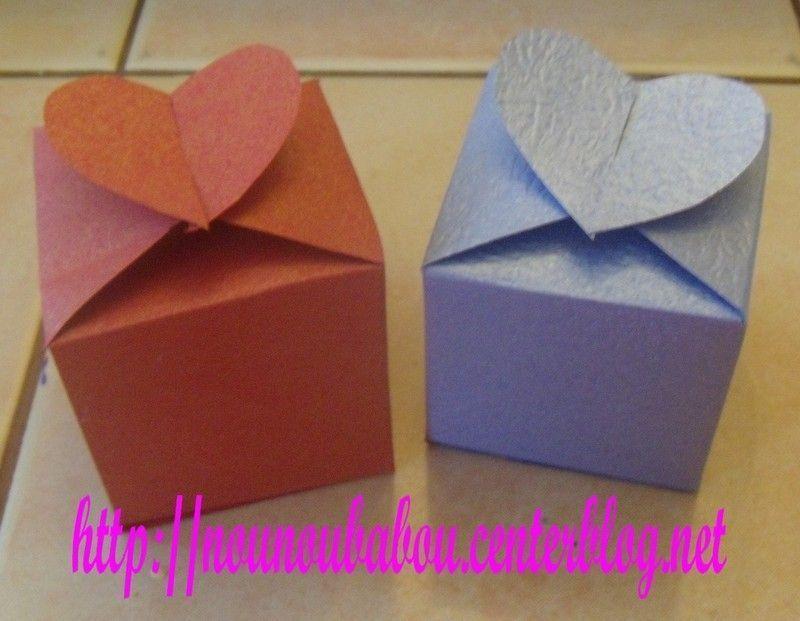 Boite coeur - Origami boite coeur ...