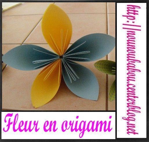 fleur origami. Black Bedroom Furniture Sets. Home Design Ideas